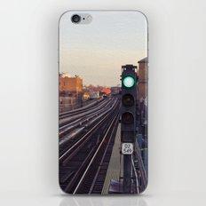 Take The 'A' Train iPhone & iPod Skin