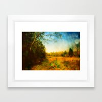 Peace Comes From Within. Framed Art Print