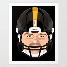 Faces- Pittsburgh Art Print