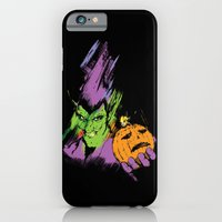 iPhone & iPod Case featuring The Green Goblin by Sam Hetherington