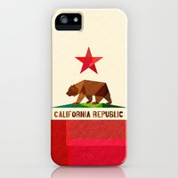 iPhone 5s & iPhone 5 Cases featuring California by Fimbis