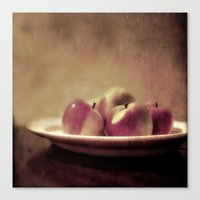 Lady Apples Canvas Print