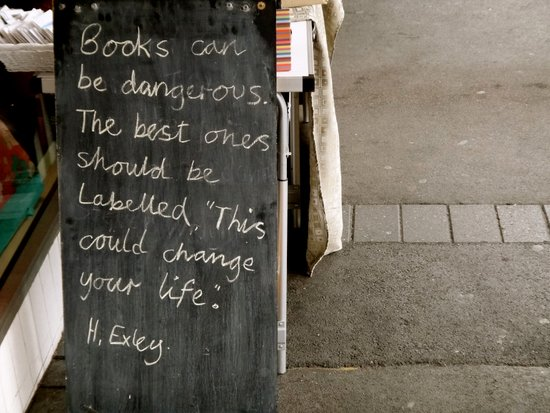 Books can be dangerous Art Print
