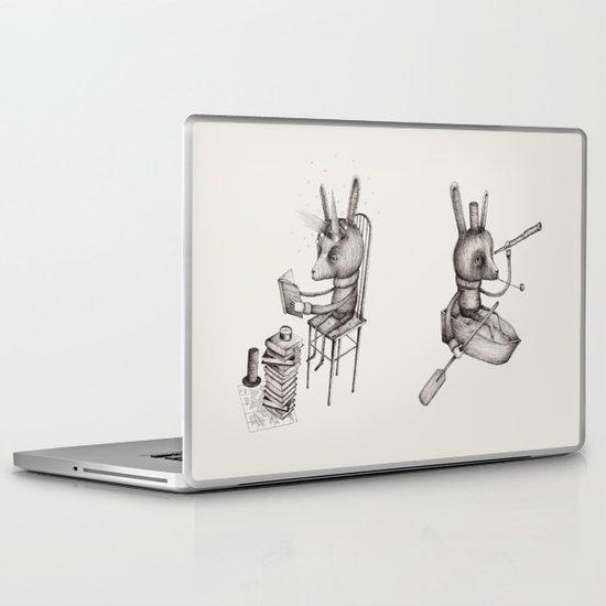 'Dreams Of Leaving' (Part 1 & 2) Laptop & iPad Skin