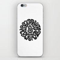 Sex, Drugs & Rock n Roll iPhone & iPod Skin