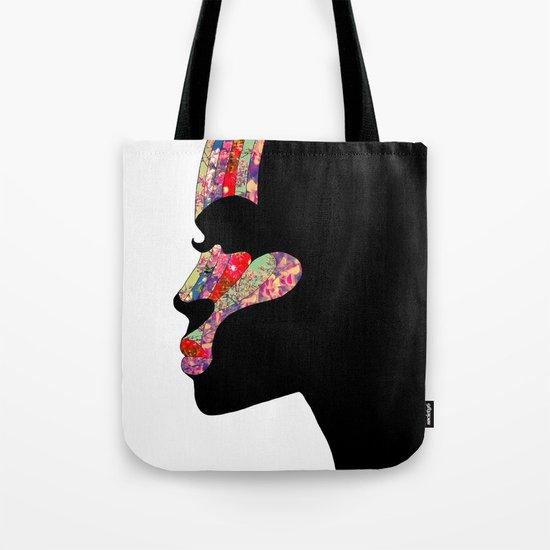 EL PERFIL Tote Bag
