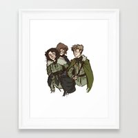 children of summer Framed Art Print