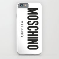 iPhone & iPod Case featuring Moschino Milano by Joannes
