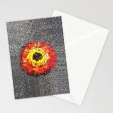 Goldsworthy in the Fall Stationery Cards