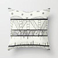 Pentastic Pattern Throw Pillow