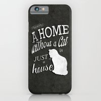 Home With Cat iPhone 6 Slim Case