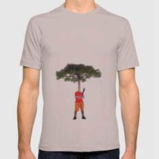 Warrior tree Mens Fitted Tee Cinder SMALL