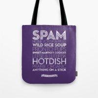 Minneapolis — Deliciou… Tote Bag