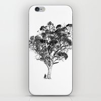 Tree and Gangster iPhone & iPod Skin