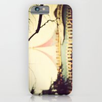 iPhone & iPod Case featuring Carousel Goes Round and Round by Abby Lanes