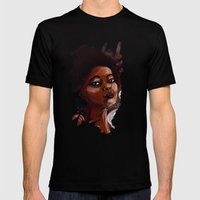 Extraordinary Mens Fitted Tee Black SMALL