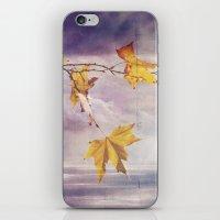 Faded Leaves - JUSTART �… iPhone & iPod Skin