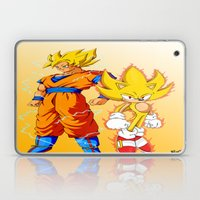 Super Sonic Warriors Z Laptop & iPad Skin