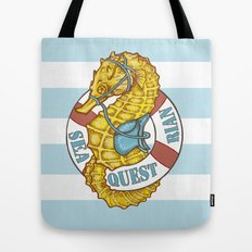 Seaquestrian Tote Bag