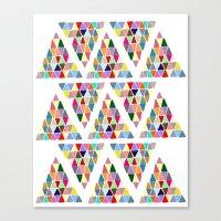 Triangle Triangle Canvas Print