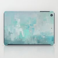 Cool Ocean Breeze Abstract Expressions iPad Case