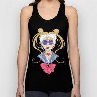 Sailor Moon After The Ba… Unisex Tank Top