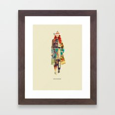 Until She Smiles Framed Art Print