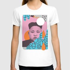 Kim Jong Fun! Womens Fitted Tee White MEDIUM