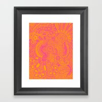millions  Framed Art Print