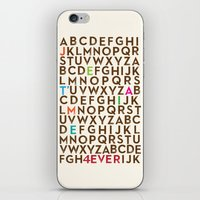 Je T'aime 4 Ever iPhone & iPod Skin