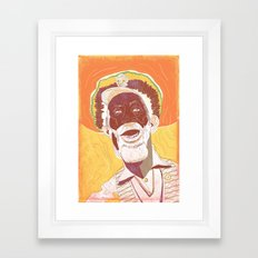 Bunny Wailer Framed Art Print