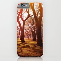 iPhone & iPod Case featuring 'CENTRAL PARK TANGLE' by Dwayne Brown