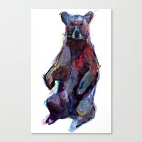 B Bear Canvas Print
