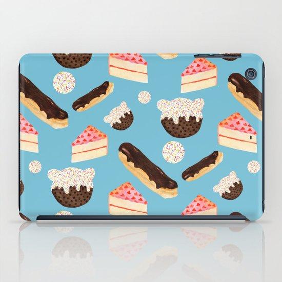 sweet things (on blue) iPad Case