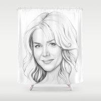 Rita Bennett (DEXTER) Shower Curtain