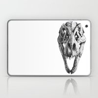 T-Rex Skull Laptop & iPad Skin