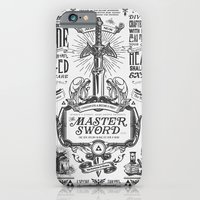Legend of Zelda Vintage Master Sword Advertisement iPhone 6 Slim Case