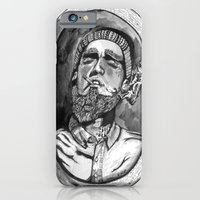 iPhone & iPod Case featuring Where the forrest meets the sea by Rufio Creative