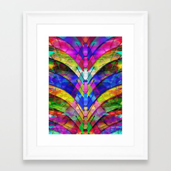 The Butterfly Collector's Dream Framed Art Print