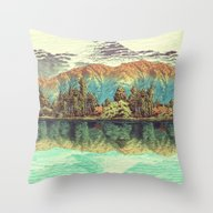 The Unknown Hills In Kam… Throw Pillow