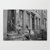 NYC Family  Canvas Print