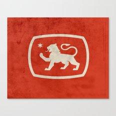 LionStar Canvas Print
