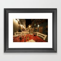Alfresco  Framed Art Print