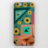 crazy triangles iPhone & iPod Skin