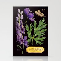 Wolfsbane Stationery Cards