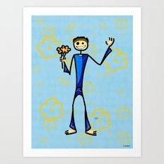 Admirer Art Print