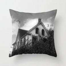 House but Not a Home Throw Pillow