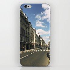 Sunny Day in Le Marais iPhone & iPod Skin