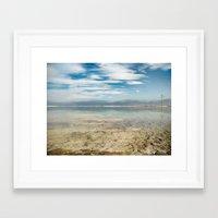 Dead Sea #2 Framed Art Print