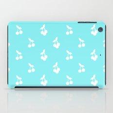 Blue cherries iPad Case